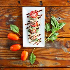 Sometimes, the simplest flavors are the ones that make the biggest statement. Try our new Caprese Salad for a taste of Italy at the beach. Red Fish Blue Fish, Caprese Salad, Outdoor Dining, The Good Place, Good Food, Italy, Vegetables, Beach, Al Fresco Dinner