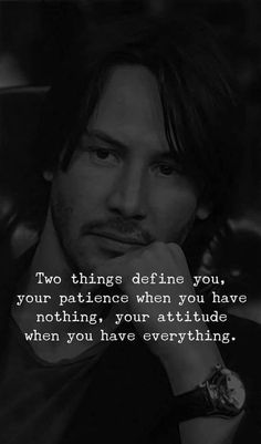 Keanu Reeves Quotes and Sayings On Life. Powerful Quotes by Keanu Reeves. Motivacional Quotes, Quotable Quotes, Great Quotes, Words Quotes, Quotes About Attitude, Inspiring Quotes About Life, Keanu Reeves Zitate, Keanu Reeves Quotes, Warrior Quotes
