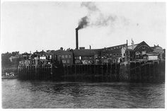 Sardine Cannery in Eastport Maine