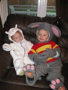 Coolest Homemade Toopy and Binoo Costumes for a Toddler and Baby... This website is the Pinterest of costumes