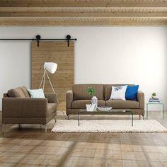 Simple & sleek. Aurora Seater Sofa only $999.95.