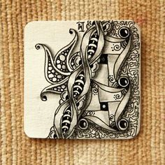 """Lily's Tangles: Diva's Weekly Challenge #219: """"Straight Lines all the Tines...er, times"""" and my weekly tiles."""