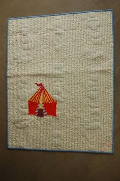 Back of Lyonel's Circus Quilt by Mary Kelly. Original Design.