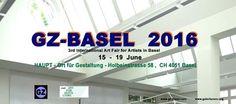 GZ-BASEL 2016  Inauguration  15 June   4 - 9 pm   www.gz-basel.com