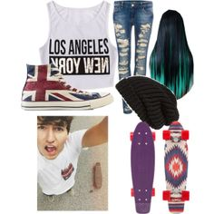 """hang day with JC caylen :)"" by musicdemonxx on Polyvore"