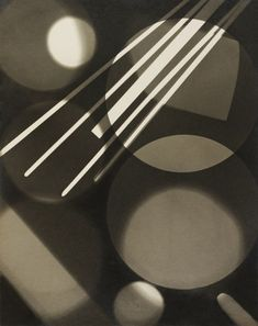 Abstract photogram, by Curtis Moffat 1925