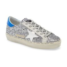 Golden Goose hi star platform sneaker. #goldengoose #sneakers #platformsneakers #activewear Metallic Heels, Golden Goose, Platform Sneakers, Nordstrom, Stars, Activewear, Women, Fashion, Moda