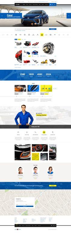 Gear — Automotive Business/Auto Parts Store PSD Template • Download ➝ https://themeforest.net/item/gear-automotive-businessauto-parts-store-psd-template/15346859?ref=pxcr