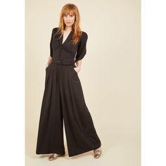 Miss Candyfloss The Embolden Age Jumpsuit (£100) ❤ liked on Polyvore featuring jumpsuits, apparel, bottoms, jumpsuit, varies, burgundy jumpsuit, jump suit, tie belt and pleated jumpsuit