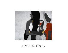 Ознакомьтесь с моим проектом @Behance: «Evening» https://www.behance.net/gallery/59452809/Evening
