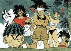 Goku vegeta bulma dbz Dragon ball z kakarot anime art aesthetic cute manga Manga Art, Manga Anime, Anime Art, New Dragon, Dragon Ball Gt, Dbz, Goku, Japanese Animated Movies, Japanese Artists