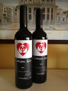 Corazón Loco 2011 y 2012 (tinto joven) de Bodega Iniesta. DO Manchuela. Uva: tempranillo y syrah .
