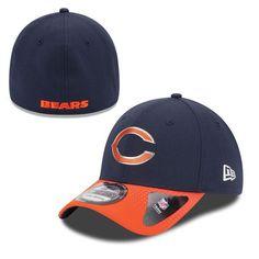 Chicago Bears New Era 2015 NFL Draft 39THIRTY Flex Hat - Navy Blue/Orange - $20.99