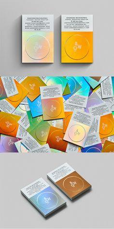 Brand Identity Design, Branding Design, Logo Design, Graphic Design, Unique Business Cards, Business Ideas, Business Card Design Inspiration, Name Cards, Bangkok Thailand