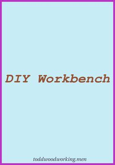 Searching for easy woodworking prepare for novices and recommendations on how to discover. #diybuilds #woodcrafts #Art Desk/ Work Bench Ideas... Wood Projects For Beginners, Beginner Woodworking Projects, Easy Projects, Diy Woodworking, Diy Workbench, Art Desk, Working Area, Cool Lighting, Wood Turning