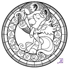 LunaStainedGlass TheLineArt By Akili Amethyst Free Stuff To Use