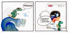elena goatelli: Arriva l'estate!! Altra vignetta per la GM