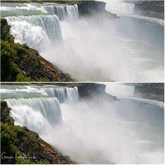 Fotografieren an den Niagara Fällen