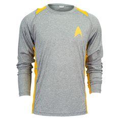 Long Sleeve Running Shirt, Running Shirts, Star Trek Party, Star Trek Shirt, Shirt Sale, T Shirt, Badge Logo, Morning Running, Modern Man