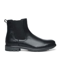 Stoere chelsea boots zwart Chelsea Boots, Ankle, Outfits, Shoes, Fashion, Fashion Styles, Gents Shoes, Boots, Black