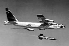 Boeing B-52; 78 in service. Famed for its memorable role in Dr Strangelove, the B-52 remains a key frontline type for the US Air Force, which still uses the H-model version. The type has been in USAF service since 1955, featuring heavily in Vietnam and even the US space programme – as the air-launch platform for X-15 rocketplanes.