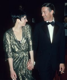 Halston with Liza Minelli .  Liza is of course wearing Halston.