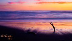 Atardecer en la playa de Iloca. Foto de Eduardo González osorio