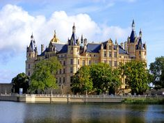 The Castle of Schwerin - From the city of Schwerin, Germany.