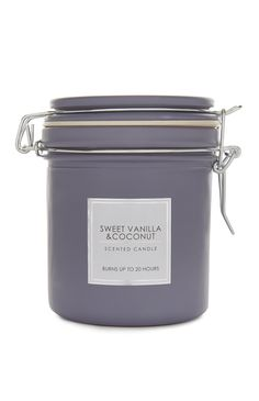 Primark - Sweet Vanilla and Coconut Jar Candle