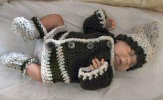 Bevs Baby Jacket Set