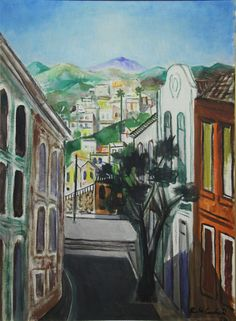Paisagem de Santa Teresa gravuras e telas do pintor brasileiro di cavalcanti - Pesquisa Google