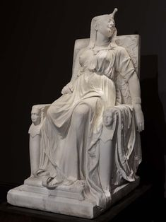 The Death of Cleopatra  [Edmonia Lewis]