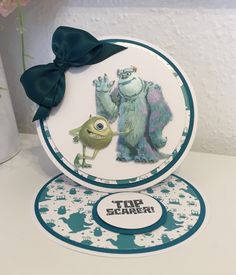 Disney Monsters, Monsters Inc, Lace Design, Scrapbook Pages, Boys, Cards, Ideas, Baby Boys, Map