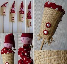 Activité bricolage - Fabriquez une marionnette avec ou pour votre enfant. Sa tête monte et descend.