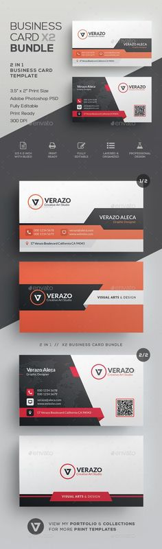 #Business #Card #Bundle 45 - Corporate Business Cards