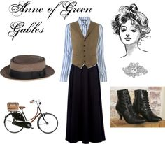 "Found Mama's Halloween costume! ""Anne of Green Gables"""