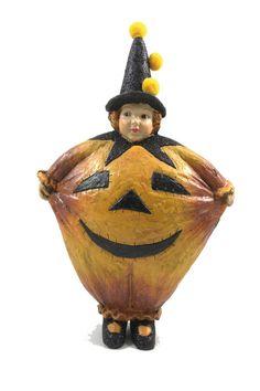 Vintage Halloween Girl