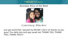 Courtney Blacher is our #NCLEX Mastery Success Story of the Week. Congratulations on passing your NCLEX, and becoming a #nurse. We're glad we could help play a part in you achieving your dreams. If you want to know how Cheryl passed or need help on your NCLEX studies visit: www.nclexmastery.com