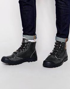 Palladium boots with jeans