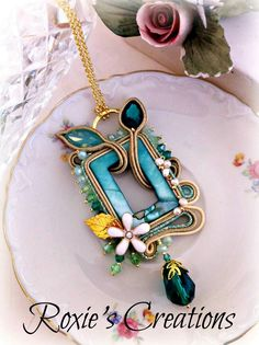 Seeking Knowledge About Hobbies? You Need To Read This Article >>> Check out the image by visiting the link. Polymer Clay Jewelry, Wire Jewelry, Jewelry Crafts, Beaded Jewelry, Unique Jewelry, Jewellery, Soutache Pendant, Soutache Necklace, Diy Necklace Making