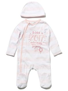 M&Co. Baby Born in 2017 sleepsuit and hat