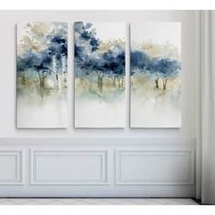 Shop for Abstract Hand-painted Oil Gallery-wrapped Canvas Art Set. Get free delivery On EVERYTHING* Overstock - Your Online Art Gallery Destination! Get in rewards with Club O! Painting & Drawing, Painting Prints, Art Prints, Paintings, Painting Canvas, Three Piece Wall Art, Wall Art Sets, Painting Inspiration, Canvas Wall Art