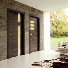 If you like modern interior design you will love this black door