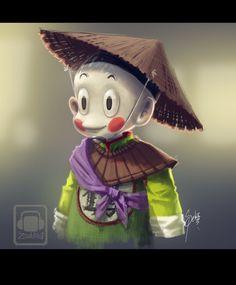 chiaotzu dragon ball by Zeablast.deviantart.com on @DeviantArt