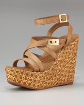 tory burch dalcin wicker platform wedges  (too expensive for me, but cute!)