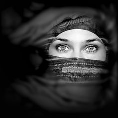 Mysterious woman.