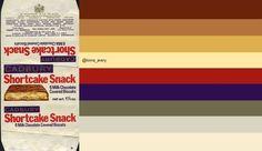 Cadbury - Shortcake Snack candy bar wrapper - 1970's: original image ©Jason Liebig  via http://www.flickr.com/photos/jasonliebigstuff/3638781322/