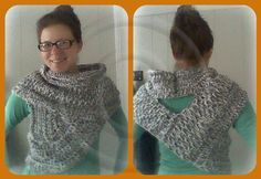 Shield Cowl Scarf | Huntress Cowl pattern on Craftsy.com