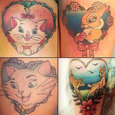 Disney tattoo. Instagram - Beautattoo