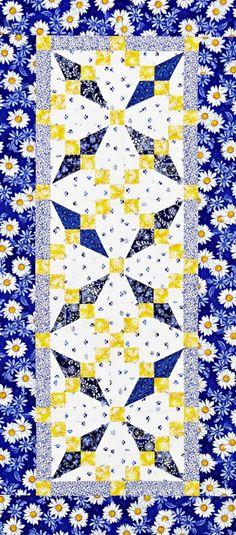Crossed Paths Color Option by Laura Boehnke using @rjrfabrics.